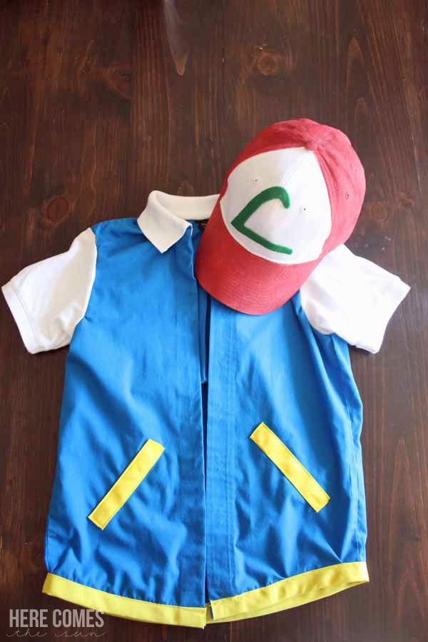Create a Pokemon Ash costume for under $15! This Halloween costume is easy to make and comfortable to wear.
