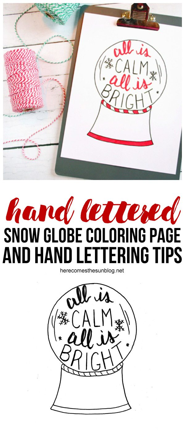 Get hand lettering tips and download 11 free hand lettering worksheets and printables!