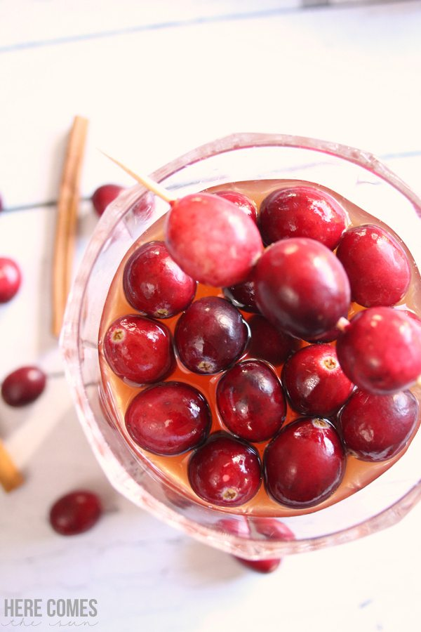 This slow cooker cranberry punch will steal the show at your holiday dinner. Click for the recipe.