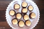 This recipe for peanut butter balls is so easy and so delicious! These are the perfect treat to male for your holiday party or any party. Click to get the recipe.