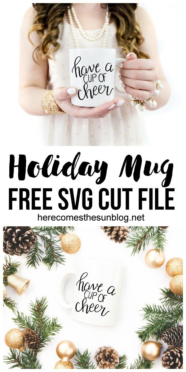 Create an adorable gift with this hand lettered svg cut file! I love this idea!