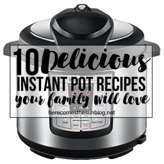 The Instant Pot is the next big thing when it comes to cooking. Get dinner on the table fast with these 10 Instant Pot Recipes.