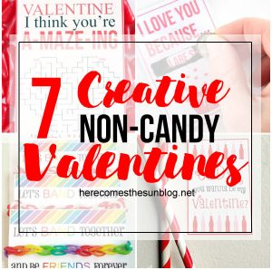 7 Creative and Fun Non-Candy Valentines