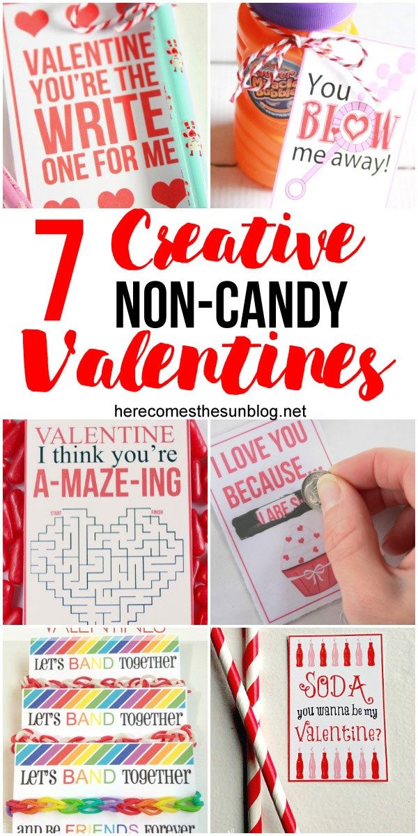 love all these creative non-candy valentines ideas. These are perfect for kids.