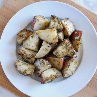10 Minute Skillet Rosemary Potatoes