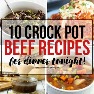 10 Beef Crock Pot Recipes for Quick Dinners