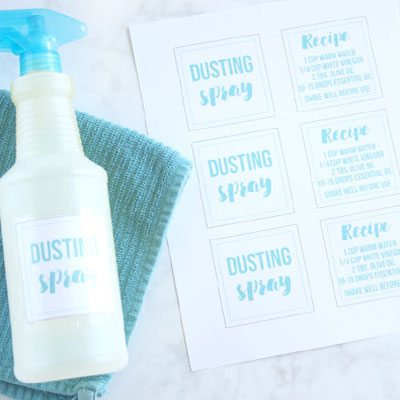 DIY Dusting Spray… Spend Less, Clean More