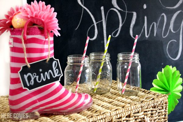 These Spring Garden Party ideas are so cute! What a fun party idea!