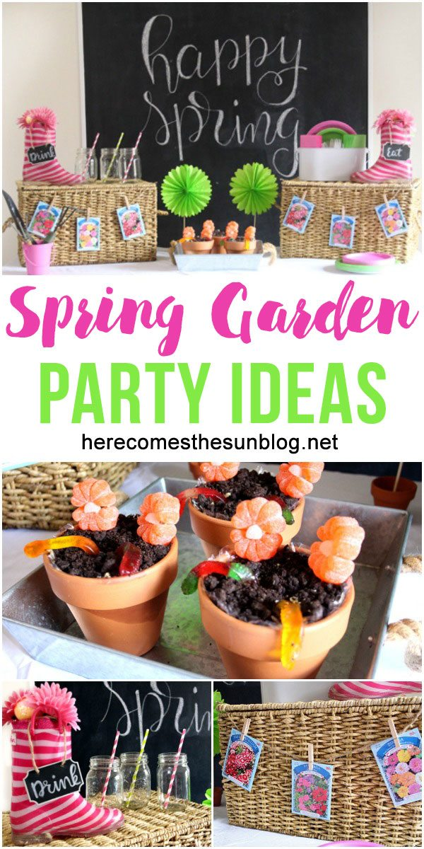 Easy Spring Garden Party Ideas Here Comes the Sun