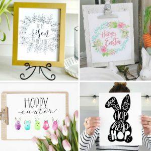 10 Hand Lettered Easter Printables