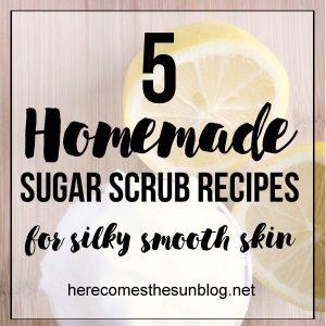 5 Homemade Sugar Scrub Recipes for Silky Smooth Skin