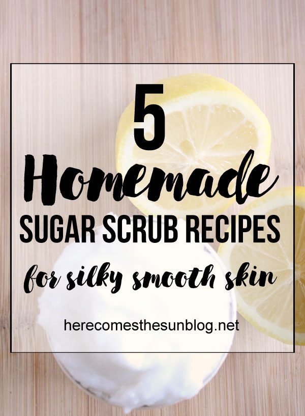 Get your skin beach ready with these amazing homemade sugar scrub recipes!
