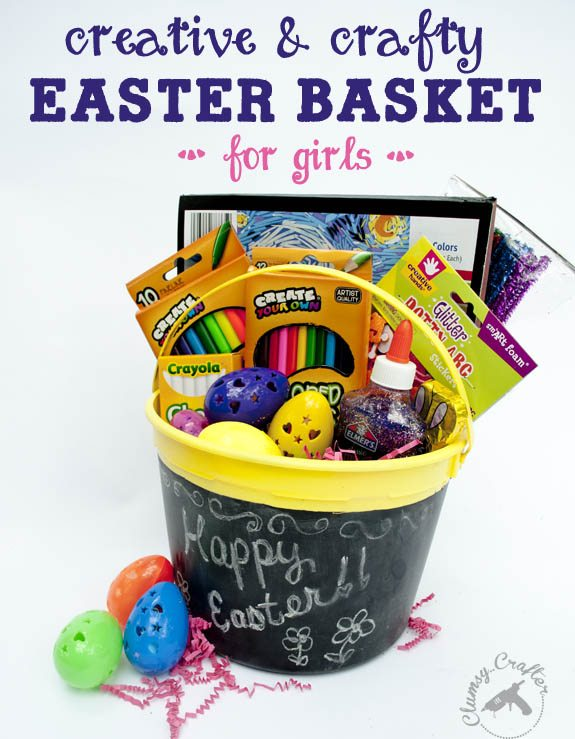 Chalkboard Basket Clumsy Crafter