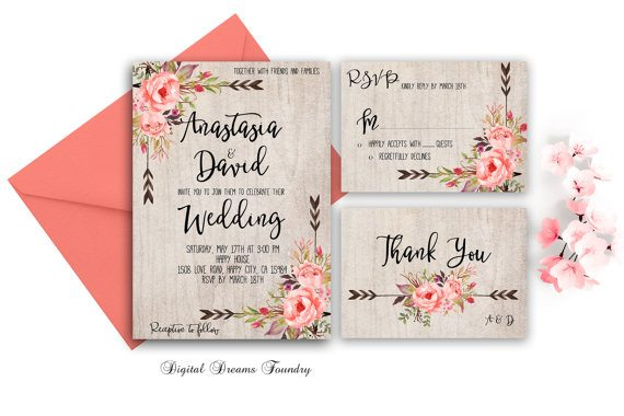 10 Affordable Summer Wedding Invitations | Here Comes The Sun