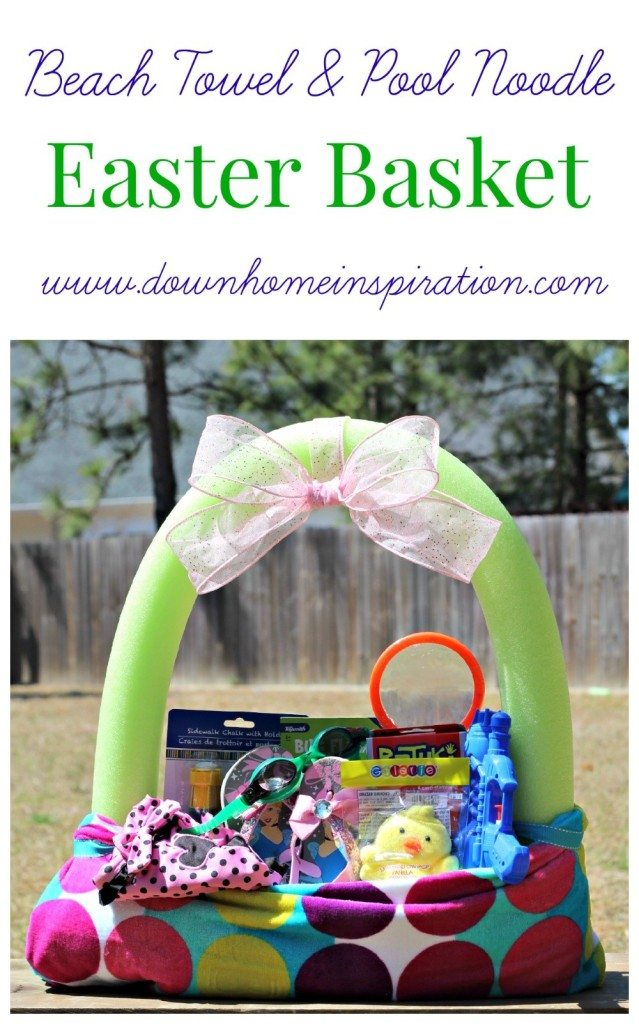 10 creative easter basket ideas your kids will love here comes beach themed basket the curriculum corner family negle Image collections