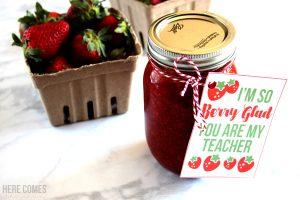 Berry Themed Teacher Gift Idea
