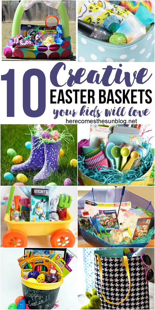 Super creative Easter basket ideas! I can't wait to use some of these this year.