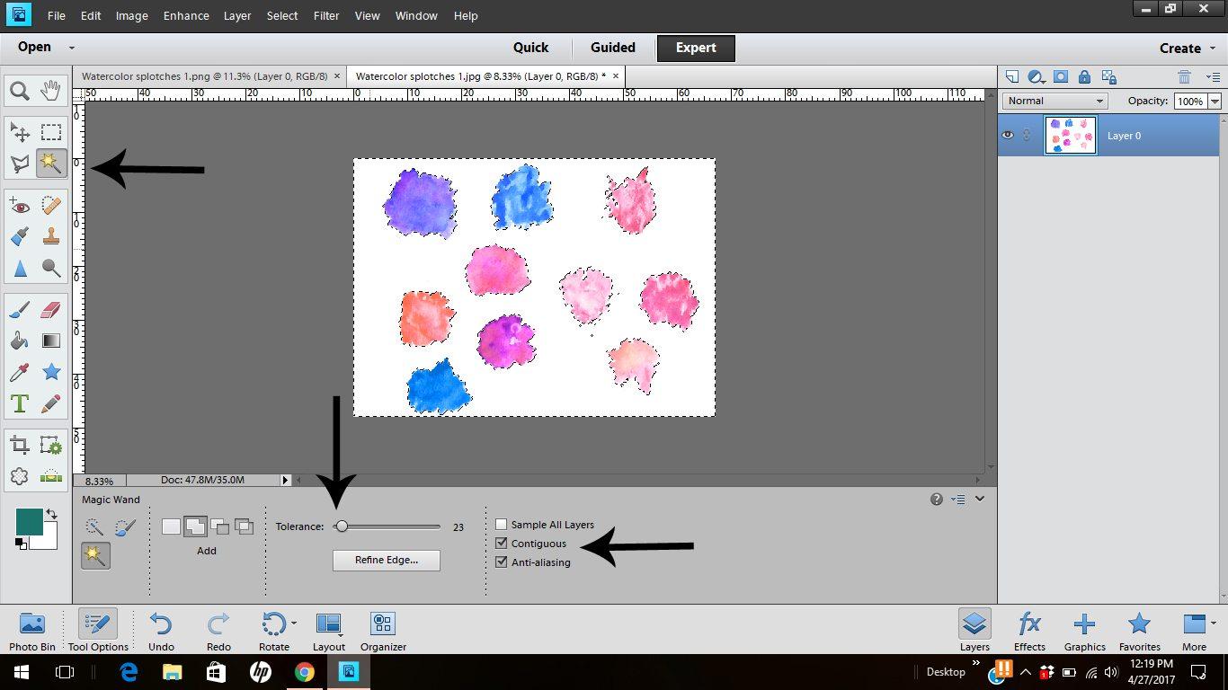 Paint Net Eyedropper Glitch