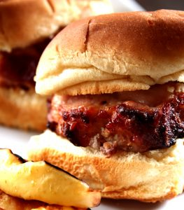 30 Minute Grilled Applewood Smoked Bacon Pork Sliders