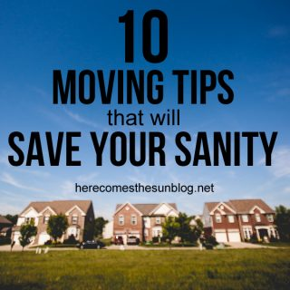 10 Moving Tips That Will Save Your Sanity