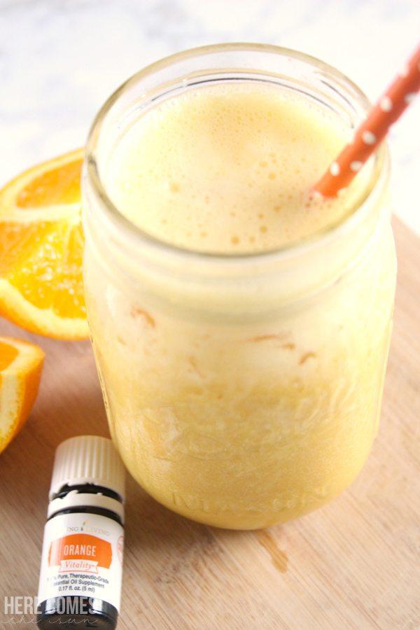 This delicious Orange Julius recipe takes only minutes to make!