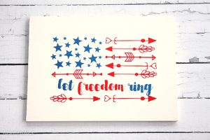 How to Make a Patriotic Wooden Sign in Just 15 Minutes