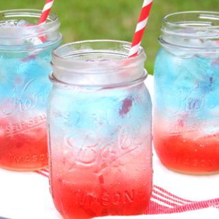 The Red White and Blue Layered Drink that will WOW your Guests
