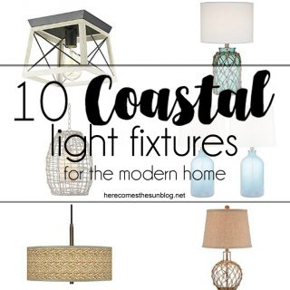 10 Coastal Light Fixtures for the Modern Home