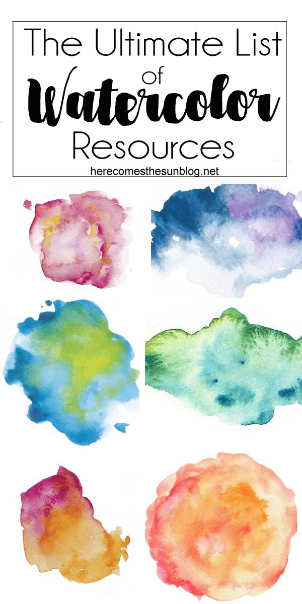 These watercolor resources are THE solution to creating amazing graphics FAST. So many beautiful designs to choose from!