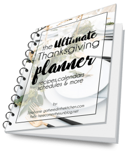 GET YOUR ULTIMATE THANKSGIVING PLANNER!