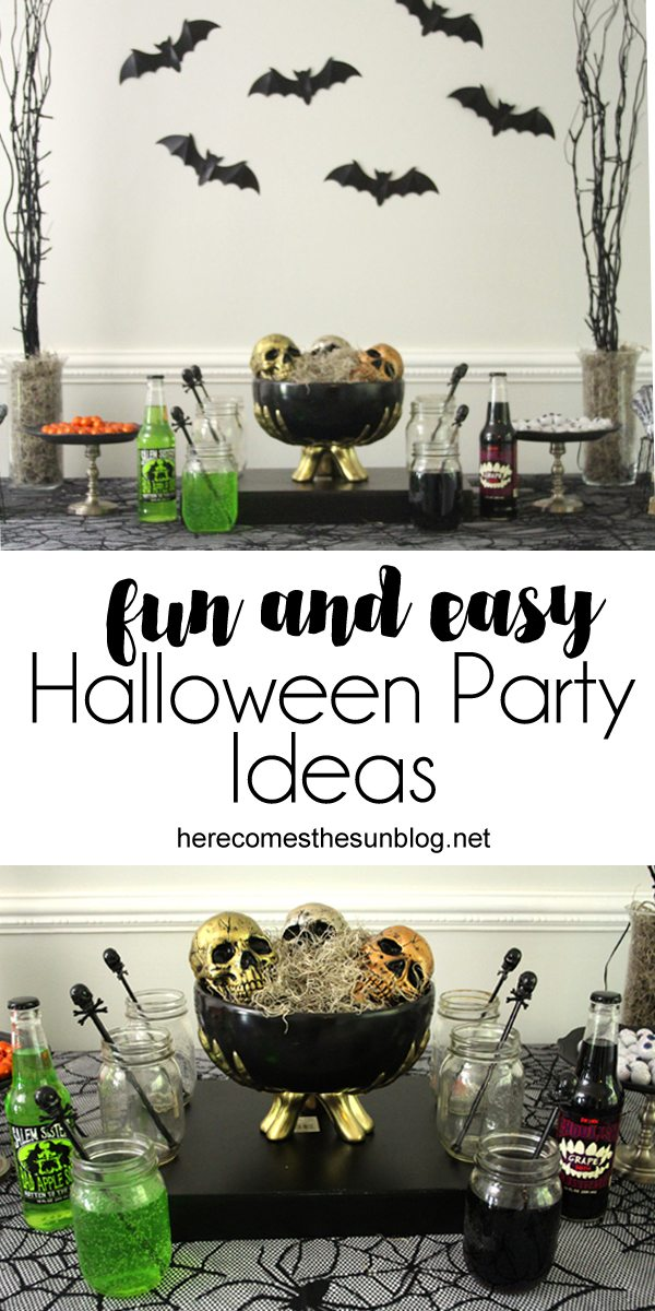 Use these easy and fun Halloween party ideas to put together an amazing celebration.