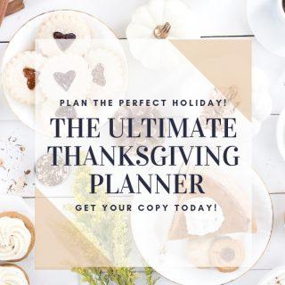 Ultimate Thanksgiving Planner