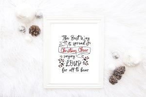 Christmas Cheer Printable