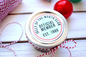 Jelly of the Month Club Gift Tags