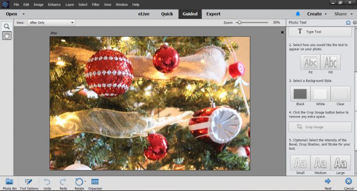 Learn how to create holiday cards using Photoshop Elements. This easy tutorial will help you make a beautiful custom card in minutes.
