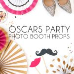 These Oscars Party photo booth props will add glitz and glam to any Oscars viewing party. Just print, cut and pose!