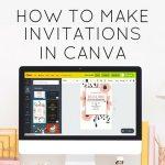 make invitations in canva