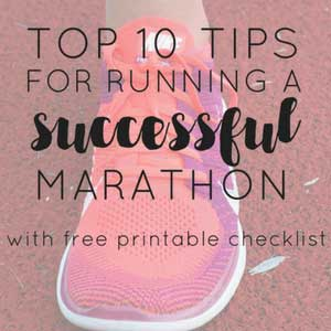 10 Tips for Running a Successful Marathon