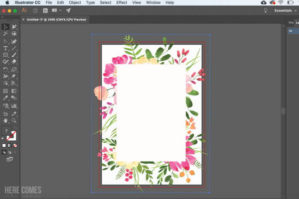 MAKE AN INVITATION IN ILLUSTRATOR