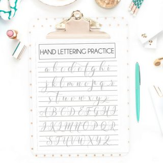 Learn Hand Lettering: The Basics