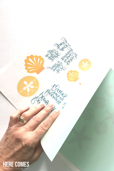 hand lettered temporary tattoos