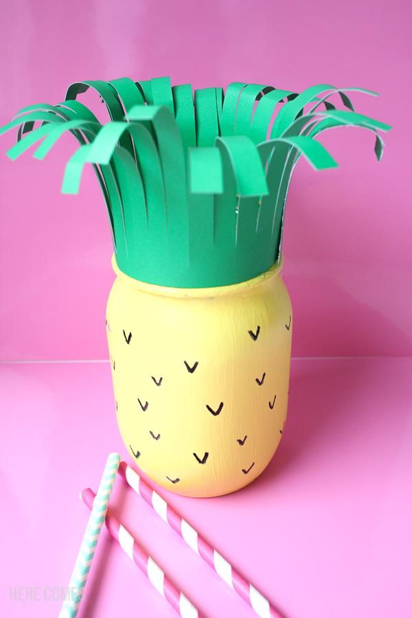 summer fruit mason jars pineapple mason jar
