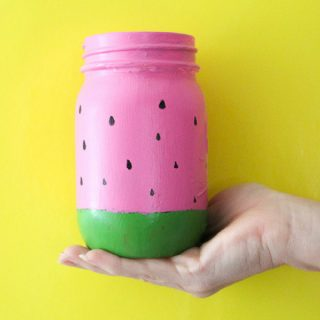 Summer Fruit Mason Jars