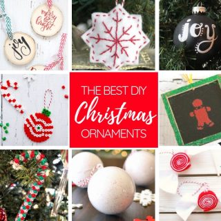 The Best DIY Christmas Ornaments to Make this Year