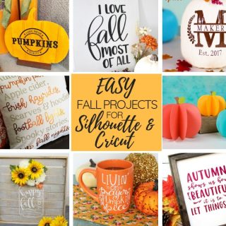 fall projects for silhouette and cricut fb