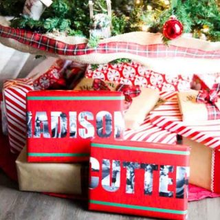 How to Make Personalized Wrapping Paper