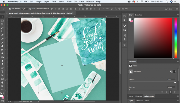 use mockups in photoshop