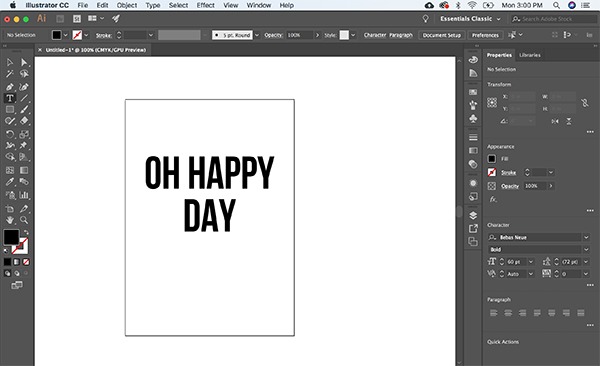 make cut files using illustrator