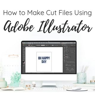 make cut files using illustrator