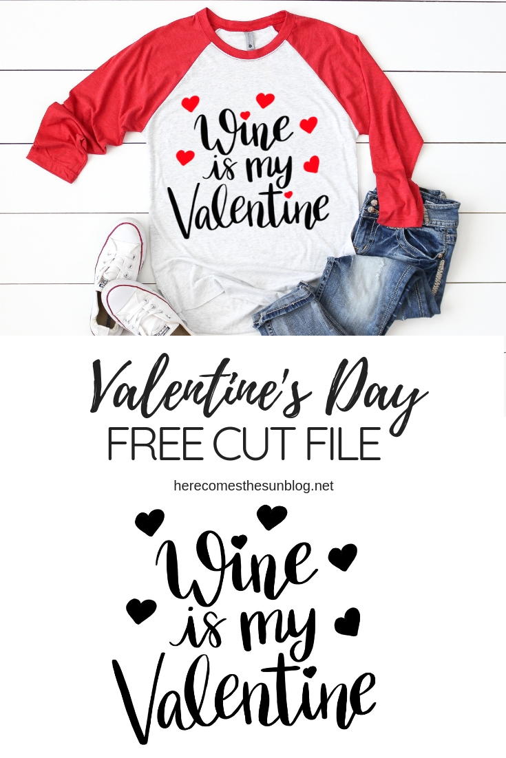 valentines day cut file